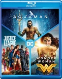 DC 3-Film Collection: Aquaman / Justice League / Wonder Woman