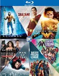 DC 7 Film Collection: Shazam/Aquaman/Wonder Woman/Suicide Squad/Batman v Superman/Man of Steel/Justice League
